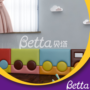 Safety Colorful Soft Wall Customized Train Soft Playground for Kids
