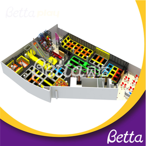 Bettaplay Customized Large Trampolines Park