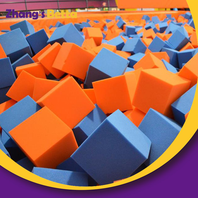 Custom Multifunction Foam Pit Cover Indoor Large Trampoline Park