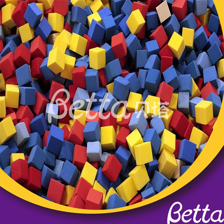 Bettaplay Customized Foam Cube Cover for Indoor Playground