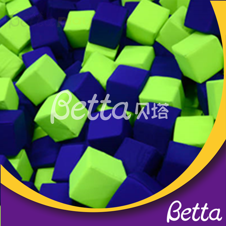 Bettaplay foams pit and foam cube For Build Indoor Trampolines With Foam Pit For Sale